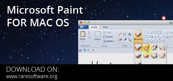 Microsoft paint for mac os rare software for Microsoft paint download