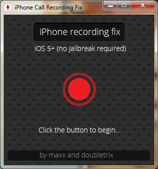 iphone record calls no jailbreak 2