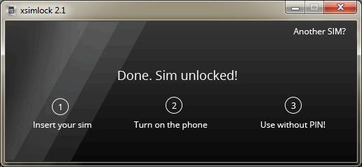 unlock sim pin 3
