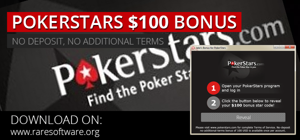 pokerstars 100 usd jakes bonus
