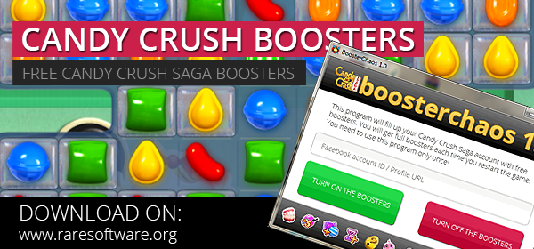 free candy crush saga boosters