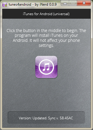 itunes for android 1